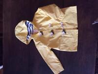 Coat .. super cute raincoat age 2T