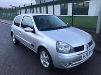 RENAULT CLIO 1.2, ONLY 59K MILES, SERVICE HISTORY, LONG MOT
