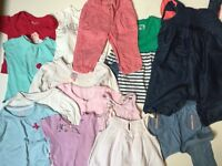 Baby Girl Clothes Bundle 6/12 Months £15 Ref.0148