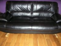 Harvey's Alizza 3 seater couch and swivel chair
