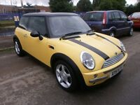 2002 MINI HATCH 1.6 COOPER 3DOOR, SERVICE HISTORY, CLEAN CAR, DRIVES VERY NICE, CLEAN CAR, HPI CLEAR