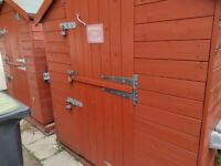10' X 6' Heavy Duty Garden Shed With Stable Doo