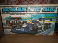 scalextric 400 racing car set fully boxed collectors item
