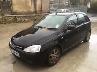 BREAKING VAUXHALL CORSA SXI 5 DOORS BLACK (ALL PARTS AVAILABLE!!!)