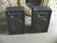 """Pair of Lemon Audio 15"""" 800w PA Speaker Cabs. PA Speakers"""