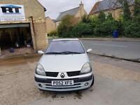 2003 Renault Clio 1.2 1 years mot 98k