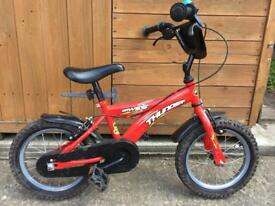 "Child's bike 14"" wheels"