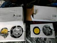 Auna LED speakers 500w and 800w