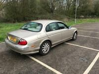 JAGUAR S TYPE 3.0 AUTOMATIC COMES WITH 1 YEAR MOT HAS FULL LEATHER DRIVES LOVELY