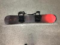 Morrow Rail Snowboard 150 with bindings