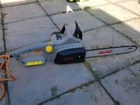 Alko electric chainsaw new