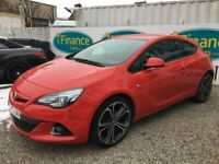 Vauxhall GTC 1.4 16v Turbo Limited Edition (s/s), 2014, Manual - £56 PER WEEK - CAR IS £7995
