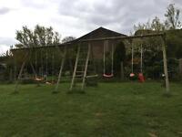 Swing sets x 2