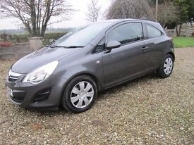 2011 Corsa Ecoflex Diesel, Stop Start Face Lift Model With Zero Road Tax.