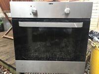 Zanussi electric oven/cooker