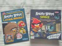 Angry Birds Space Board Game and Angry Birds Star Wars book
