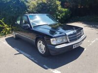 Mercedes 190e K reg 158000 mileage with full vosa service history