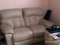2 & 3 seater leather sofa/recliners. FREE to anyone who can use them. Collection Only from Havant.