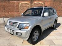 2002 MITSUBISHI SHOGUN 3.2 DIESEL AUTOMATIC 7 SEATER WITH LEATHER