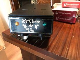 LE VERRE DE VIN - COMPACT DUAL WINE & CHAMPAGNE SYSTEM