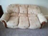 FREE sofa and 2 arm chairs with FREE DELIVERY