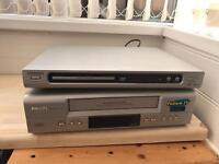 DVD player & VHS Player