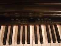 Technics PX73 full size digital Piano with piano stool