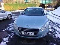 Peugeot 508 2.0 HDi 163 SR 4Dr Allure. Light blue.