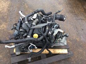 NISSAN QASHQAI 2014 1.5 DCI K9K A636 (K9K636) ENGINE BREAKING