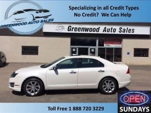 2012 Ford Fusion SEL V6 GOOD KM'S (103715 KM'S) LEATHER ROOF CLE