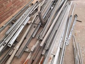 "Electrical trunking steel galvanised large selection 2"" and 3"""