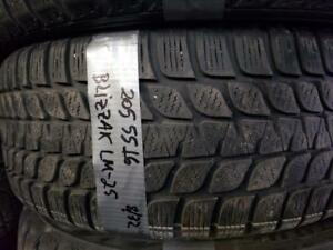 1 winter tire bridgestone blizzak lm-25  205/55r16  SPECIAL!