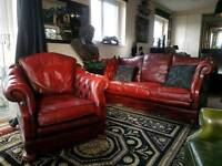 Dellbrook Drop Arm Sofa and Chair & Chair