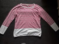 Ladies Crew Clothing Jumper Size 16