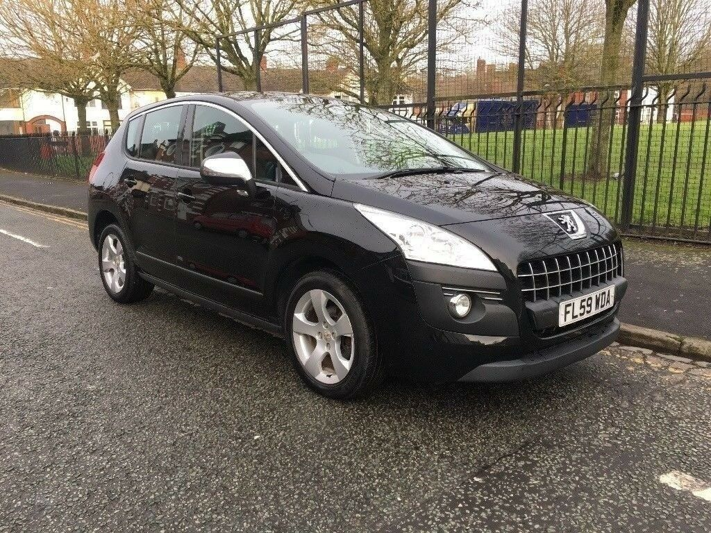 2010 peugeot 3008 sport 1 6 hdi fap suv egc automatic gearbox black in stoke on trent. Black Bedroom Furniture Sets. Home Design Ideas