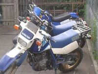 Suzuki DR 600 . 4 Bikes for sale . Barn find . Shed find . Project bike