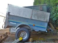 ROAD TRAILER, GALVANISED, TIPPING