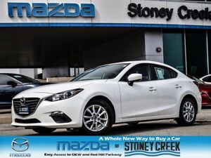 2014 Mazda MAZDA3 GS AUTO,NEW F/BRKS+TIRES,HEATED,ACC FREE,1 OWN