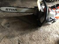 Stihl 08s chainsaw