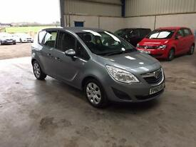 2011 Vauxhall meriva 1.4cc low miles 1 owner guaranteed cheapest in country