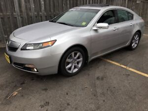 2014 Acura TL Tech Package, Navigation, Leather, 46, 000km