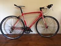 Road BIke Specialized Allez Compact With Only Few Miles. Includes Pedals Look.
