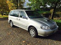 2005 05 Kia Sedona 2.9 deisel 7 seater only £695