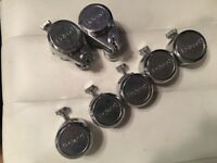 Roland Electronic Drum Triggers Complete set of 7 - - RT-3T, RT - 5S, RT-7K