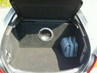 Vauxhall Insignia Boot Build Subwoofer
