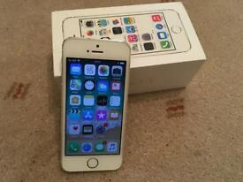 Iphone 5S - 16Gb - Unlocked - Silver - Immaculate Condition