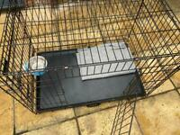 Dog crate / cage for training with extras