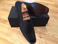 Massimo Dutti Black Shoes size 9.5 / 43 RRP £169