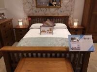 Solid Oak Bed Frame (King)