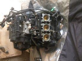 Triumph Street Triple engine